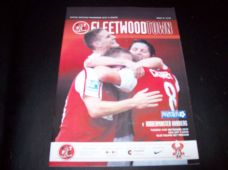 Fleetwood Town v Kidderminster Harriers, 2010/11